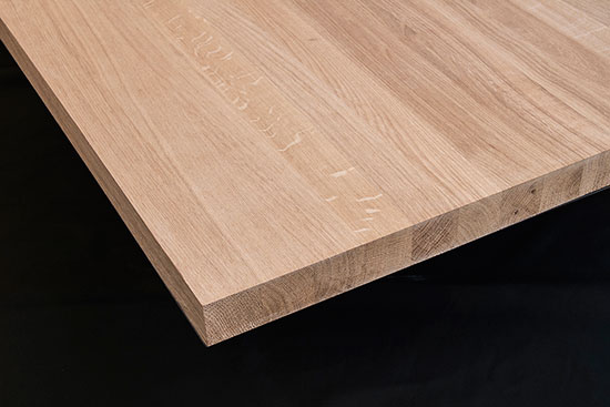 EUROPEAN OAK - AB solid staves